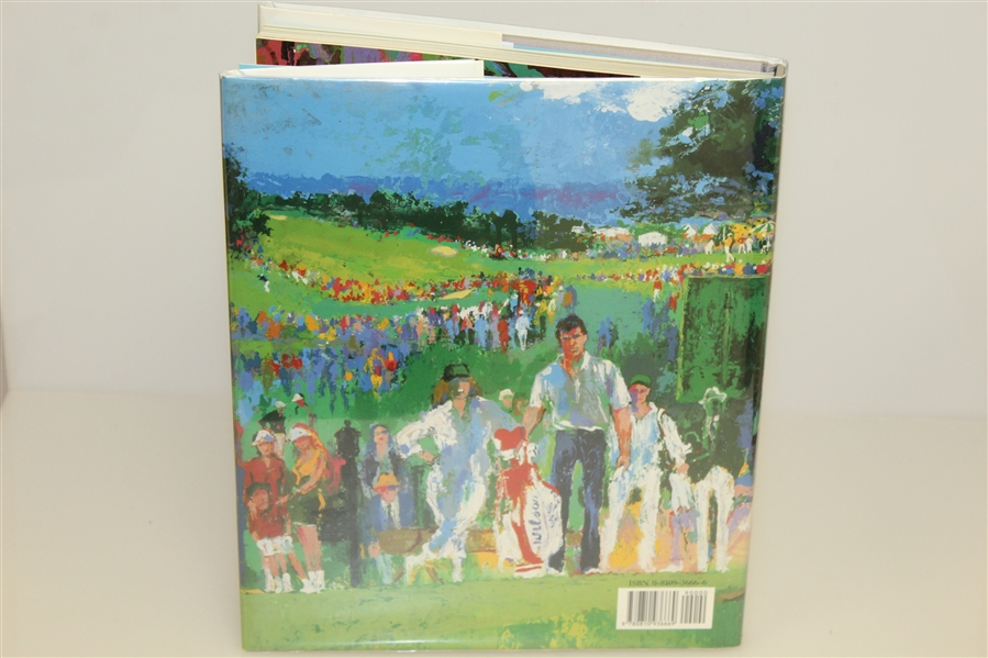 Big Time Golf Signed By Author Leroy Neiman JSA ALOA