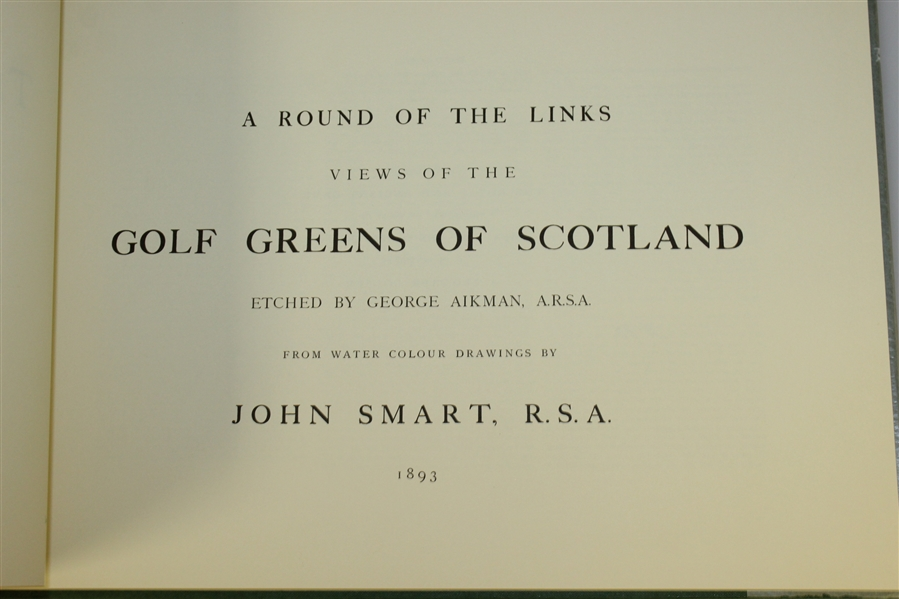 'Some Of The Rules Of Golf' Introduced By Alan Jenkins & 'The Greens Of Scotland' By John Smart