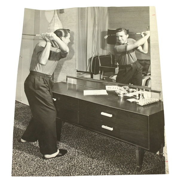 Gary Player Wire Photo - Preparing For The 1960 US Open