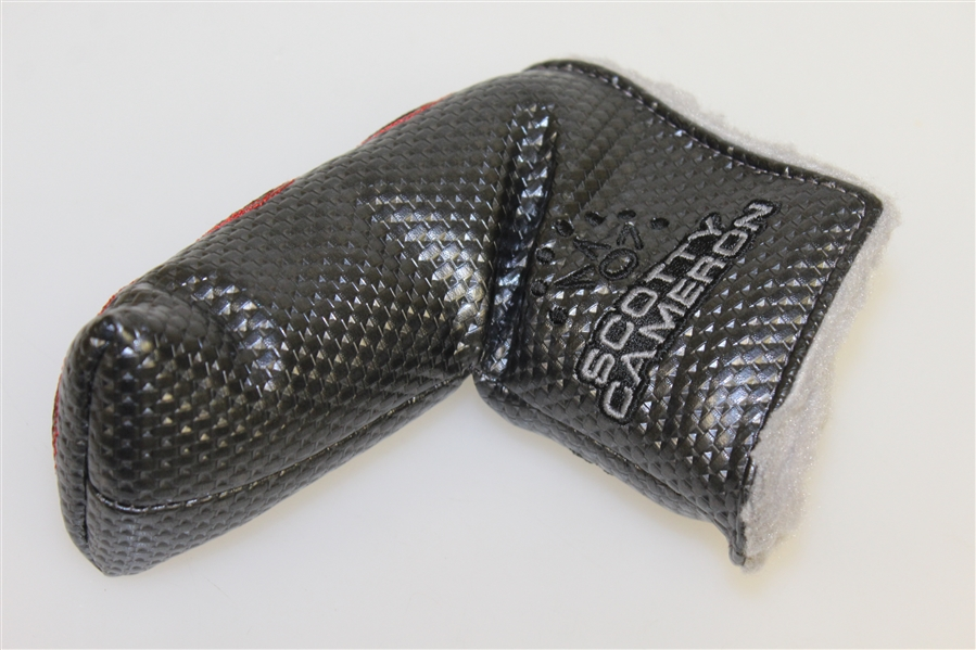Unused Titleist Stamped Scotty Cameron Milled Studio Select Laguna 2 Slab Style Putter w/ Matching Head Cover