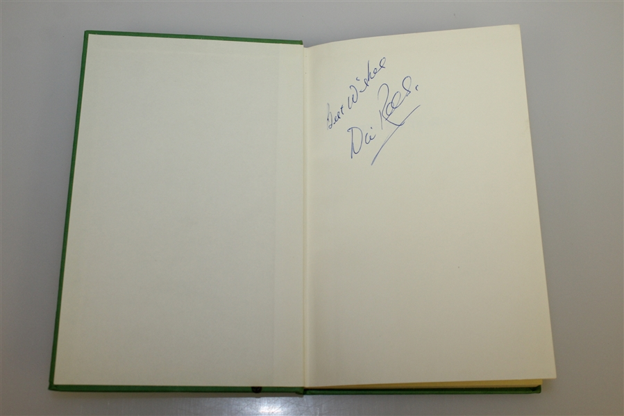 Dai Reese Signed 'The Key to Golf' 1st Edition 1961 Golf Book JSA ALOA