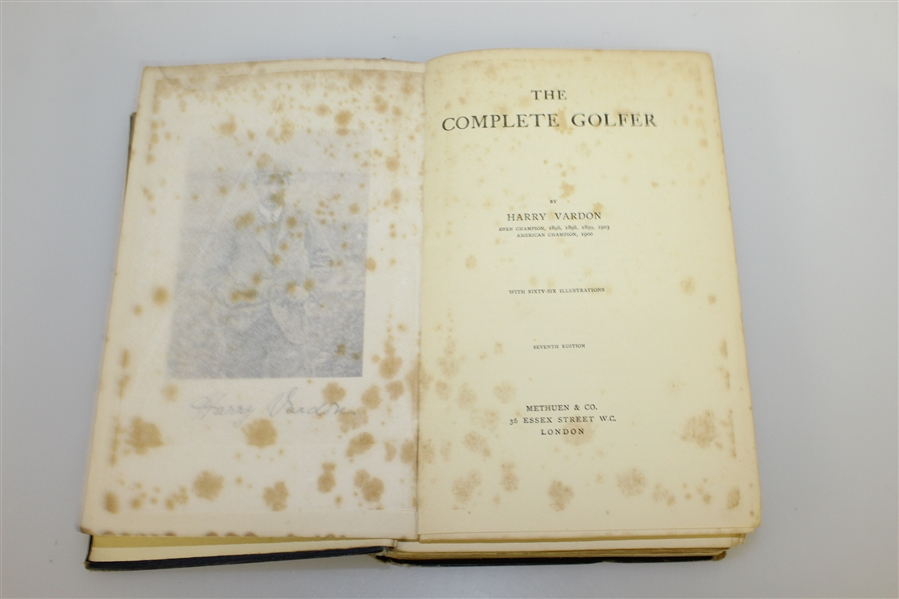 'The Complete Golfer' by Harry Vardon & 'Down the Fairway' by Jones & Keeler Golf Books