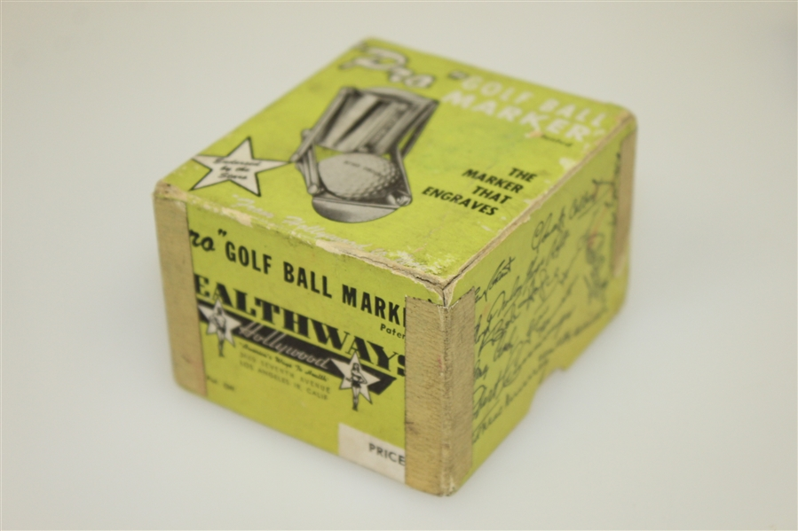 Vintage Healthway Pro 'Golf Ball Marker'- Endorsed by the Stars - Complete Set