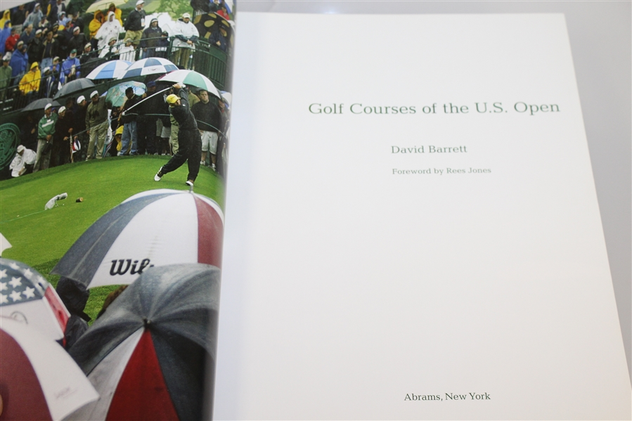 '500 World's Greatest Golf Holes', 100 Toughest Holes', & 'Golf Courses of the US Open' Books