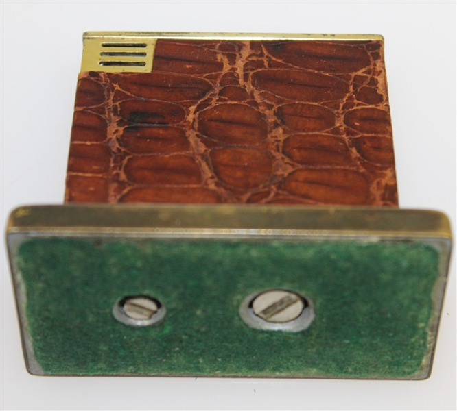 Bobby Jones' Personal Used Desk Lighter Gifted to HOF Writer Charles Price - W/Provenance- GWAA 1st Prize For Writing