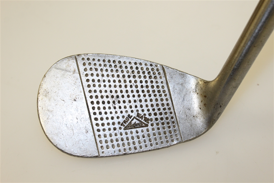 Leyland True-Wate Rustless 7-Iron w/ Face Stamp - Pat. No. 414616/34 (Non-Hickory Shaft)