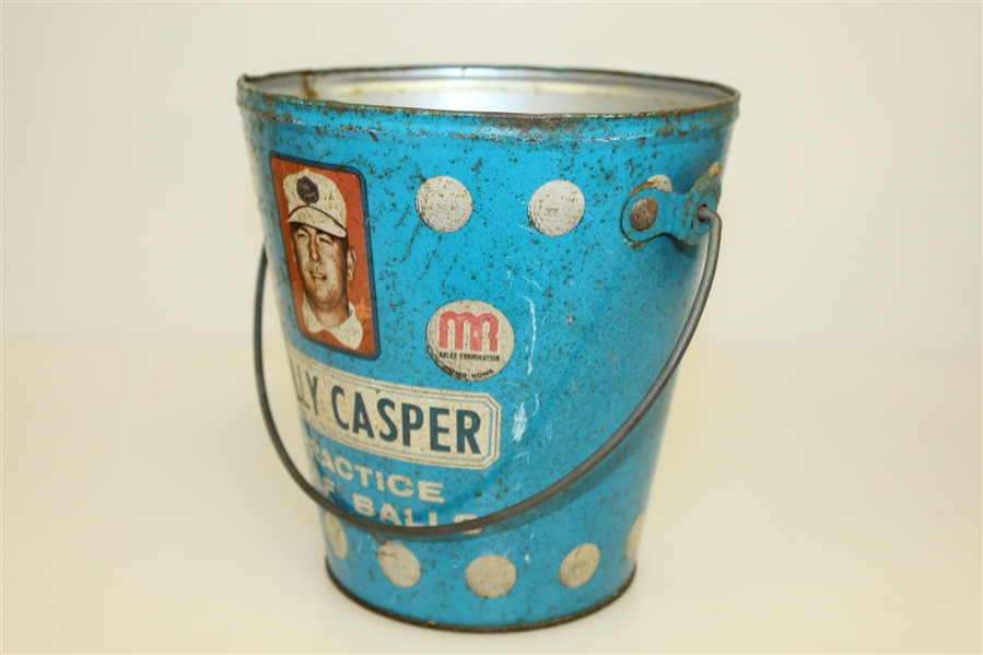 Billy Casper Range Ball Bucket