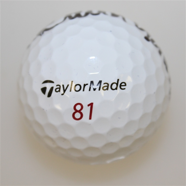 David Graham Signed TaylorMade 81 Logo Golf Ball JSA ALOA