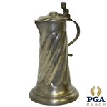 1902 Turnaway Brook GC Pewter Trophy Pitcher - Mixed Foursome Medal Play Tournament