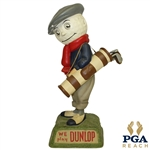 "1950s Dunlop Golf Ball Caddie ""We Play Dunlop"" Advertising Figural Point Of Purchase Display"