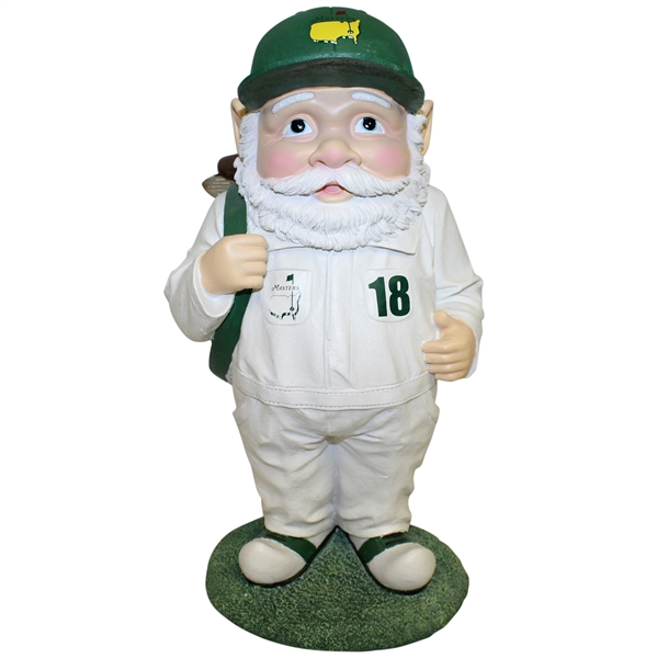 Ltd Edition Masters Green & White Caddie Gnome in Original Box - Sold Out Quickly