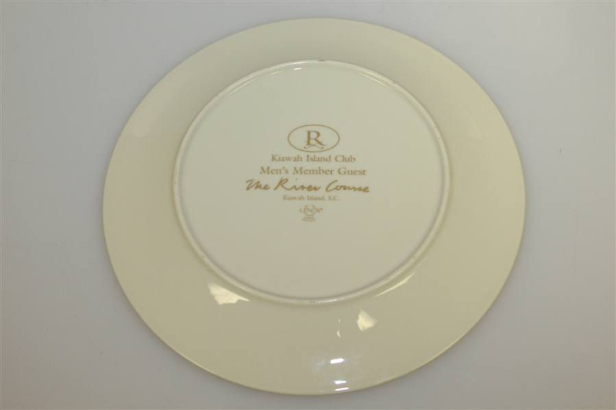 Kiawah Island Men's Member Guest 'The River Course' Lenox Plate - May 1999