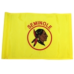 Official Seminole Golf Club Embroidered Course Flag