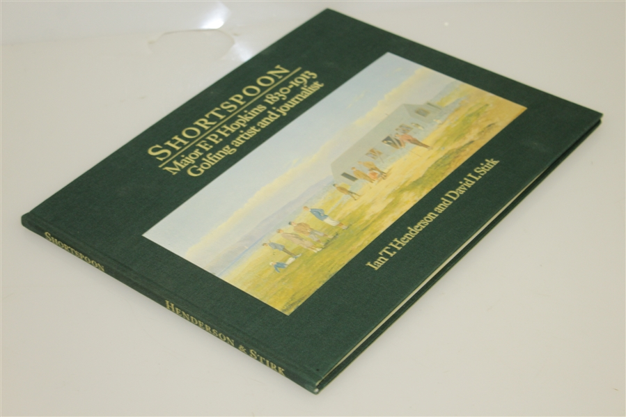 Ltd Ed Shortspoon Major F.P. Hopkins Golfing Artist and Journalist in Slipcase 205/750 Signed by Authors