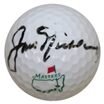 Jack Nicklaus Signed Masters Logo Golf Ball JSA ALOA