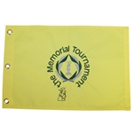 Jordan Spieth Signed The Memorial Tournament Embroidered Flag PSA/DNA #Y04151