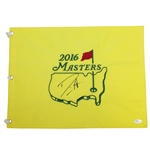 Danny Willett Signed 2016 Masters Embroidered Flag JSA #P67592