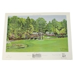 Bill Waugh Artists Proof #10 - Augusta 11th Green RTJ Collection Signed by Jones & Waugh JSA ALOA