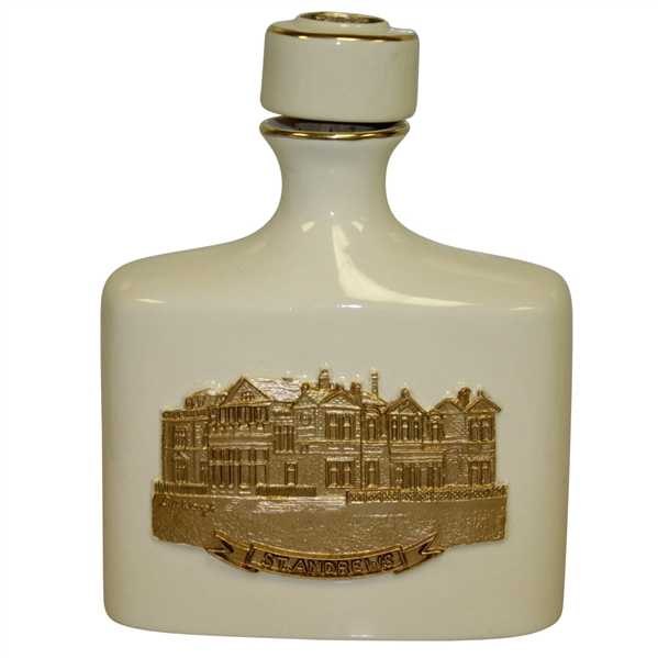 St. Andrews 'The Old Course' Artist Proof Bill Waugh Handcrafted Porcelain Decanter