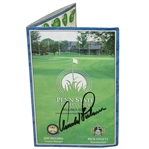 Arnold Palmer Signed Penn State Golf Courses Official Scorecard JSA ALOA