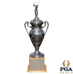 "Original Horton Smith Trophy Awarded Annually to An Individual PGA Pro For Outstanding & Continuing Contributions To Education 44"" Tall"