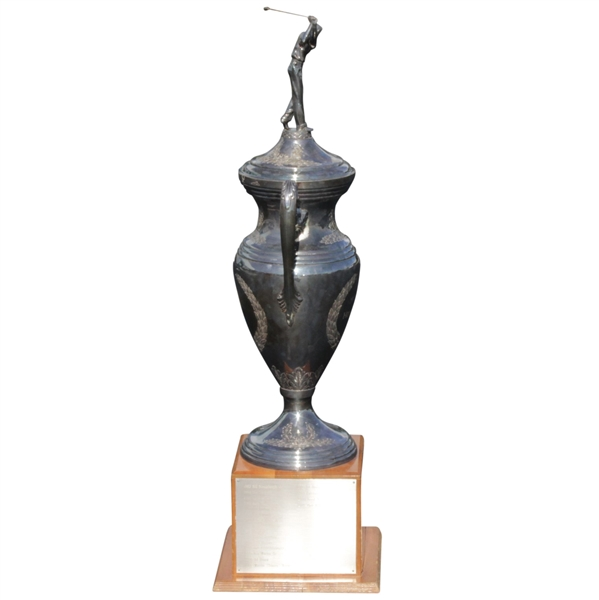 Original Horton Smith Trophy Awarded Annually to An Individual PGA Pro For Outstanding & Continuing Contributions To Education 44 Tall