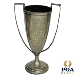 1922 Directors Cup Silver Loving Cup Presented by Harry Cooper - Won By Horton Smith & others
