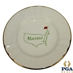 Classic Augusta National Golf Club Masters Logo with 22k Gold Trim Ash Tray - Made in USA
