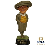 """He Played a Penfold"" Golf Ball Advertising Figure Point Of Purchase Display - Missing Cigar"