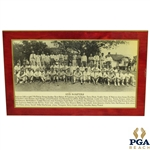 1935 Augusta Invitational Tournament (Masters) Field Photo - Matted & Sealed