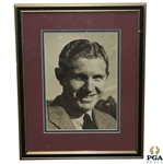 Portrait of Horton Smith - Framed & Matted