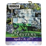 Sergio Garcia Signed 2017 Masters Series Badge #R09656 JSA #DD11004 - First One!