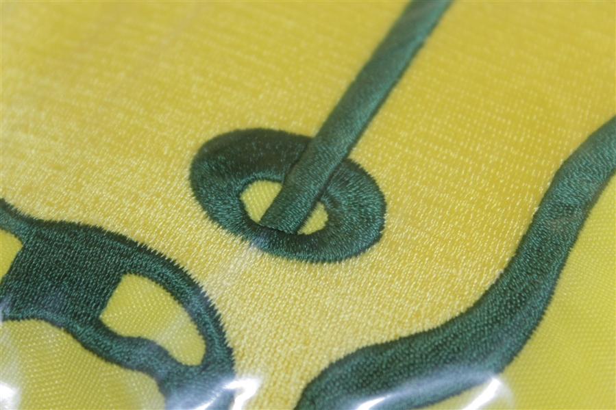 Unopened 1997 Masters Embroidered Center Flag - Rare - The One To Own!