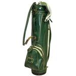 Masters Tournament Hot Z Vintage Green Golf Bag with Bag Towel