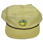 Vintage Masters Circle Patch Yellow Hat - Made by Derby Cap