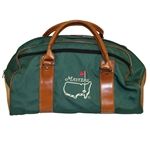 Classic Masters Tournament Leather & Canvas Duffel Bag - Excellent Condition