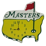Classic Masters Tournament Yellow Logo Golf Wall Clock