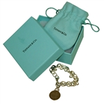 Masters Tiffany & Co. Sterling Silver Bracelet with Original Pouch & Box