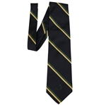 Augusta National Golf Club Navy/Green/Tan with Red Stripe Slazenger Tie - Classic