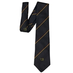Augusta National Golf Club Navy with Red/Yellow Stripe Member Tie - Classic