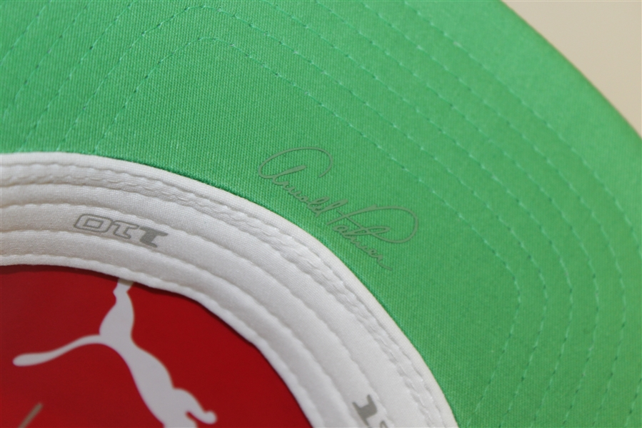 Rickie Fowler Signed 'Arnold Palmer Bay Hill' PUMA Ltd Ed Hat  - Sold Out! JSA ALOA