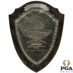 Horton Smiths 1933 International Four Ball Winners Plaque with Paul Runyan - Miami CC