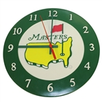 Classic Green Circle Masters Wall Clock