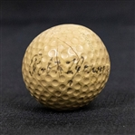 "Robert ""Bobby"" Tyre Jones, Jr. Signed Golf Ball - 7 Known Examples Exist- JSA Letter #Y34298"