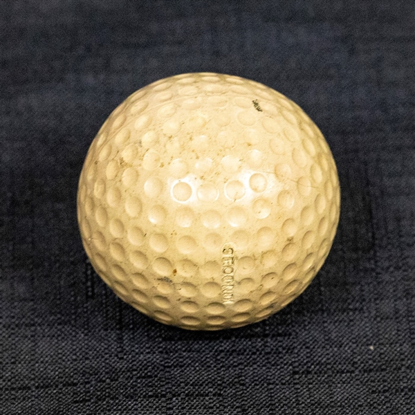 Robert Bobby Tyre Jones, Jr. Signed Golf Ball - 7 Known Examples Exist- JSA Letter #Y34298