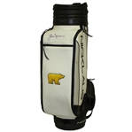 Jack Nicklaus Signed Nicklaus Golden Bear Black White Golf Bag JSA ALOA