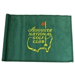 Augusta National Golf Club Green Course Used Flag - Seldom Seen