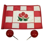 Cherry Hills Country Club Course Flown Hole #1 Flag with Tee Markers - Includes Letter