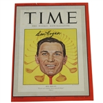 Ben Hogan Signed January 10, 1949 TIME Magazine Cover JSA ALOA