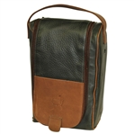 Augusta National Golf Club Member Leather Shoe Bag